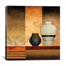 """A Big and a Small Vases"" Canvas Wall Art by Pablo Esteban"