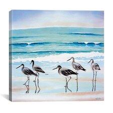 5 Birds by Patrick Sullivan on Canvas
