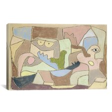 'Also True of Plants (Gilt Auch Fur Pflanzen) 1932' by Paul Klee Painting Print on Canvas