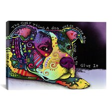 Affection by Dean Russo Graphic Art on Canvas