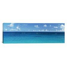 Panoramic View of the Atlantic Ocean, Bermuda Photographic Print on Canvas