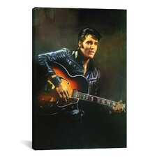 Art Warm, Graceland Art by Elvis Presley Painting Print on Canvas