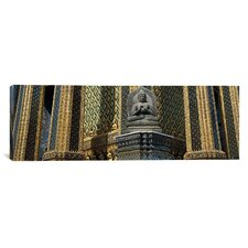 Panoramic Emerald Buddha, Wat Phra Keo, Bangkok, Thailand Photographic Print on Canvas