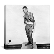 Muhammad Ali 12 Year Old Cassius Clay Photographic Print on Canvas