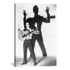 1950's Publicity Shot by Elvis Presley Photographic Print on Canvas
