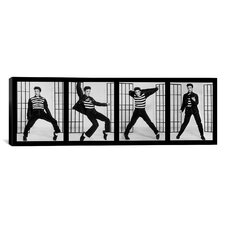 Jailhouse Rock by Elvis Presley Photographic Print on Canvas