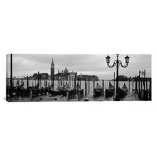Panoramic Church of San Giorgio Maggiore, Venice, Italy Photographic Print on Canvas