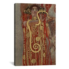'Hygieia (Detail from the Medicine') by Gustav Klimt Painting Print on Canvas
