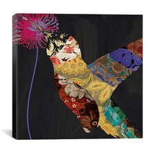 """Humming Bird Brocade III"" Canvas Wall Art from Color Bakery"