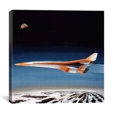 Hypersonic Bomber Canvas Wall Art