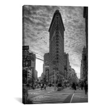 'Flatiron Building (New York City)' by Christopher Bliss Photographic Print on Canvas