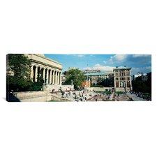 Panoramic Library of Columbia University, New York City Photographic Print on Canvas