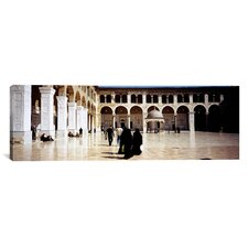 Panoramic Umayyad Mosque, Damascus, Syria Photographic Print on Canvas