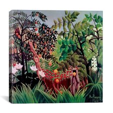 """Exotic Landscape, 1910"" Canvas Wall Art by Henri Rousseau"