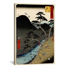 'Hakone' by Utagawa Hiroshige Painting Print on Canvas