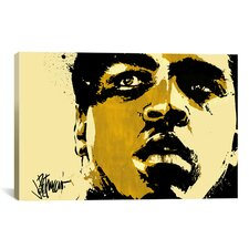 'Eyes of the World' by Muhammad Ali Painting Print on Canvas