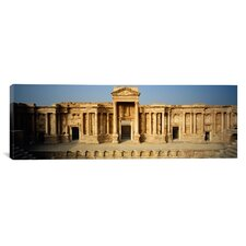 Panoramic Building, Palmyra, Syria Photographic Print on Canvas