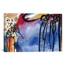 'Improvisation 19 II' by Wassily Kandinsky Painting Print on Canvas