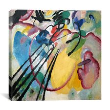 """Improvisation 26 (Rowing)"" Canvas Wall Art by Wassily Kandinsky Prints"