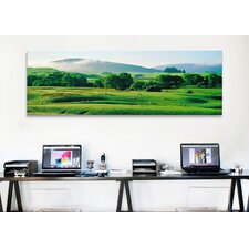 Panoramic Farmland Southland, New Zealand Photographic Print on Canvas
