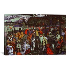 'Colorful Life' by Wassily Kandinsky Painting Print on Canvas