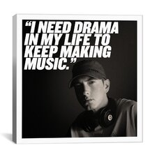 Eminem Quote Canvas Wall Art