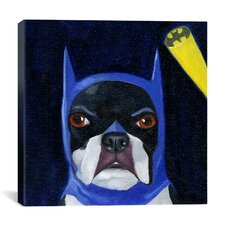 'Hat 15-2 Bat' by Brian Rubenacker Graphic Art on Canvas