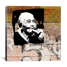 """Havana Smoker"" by Luz Graphics Graphic Art on Canvas"