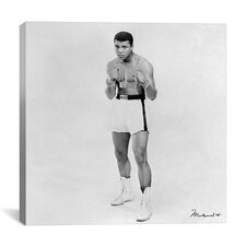 'Muhammad Ali Heavyweight Boxer 1963' by Celebrities Photographic Print on Canvas