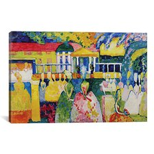 'Crinolines' by Wassily Kandinsky Painting Print on Canvas