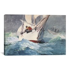 'Diamond Shoal 1905' by Winslow Homer Painting Print on Canvas