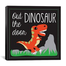 """Dinosaur"" Canvas Wall Art by Erin Clark"