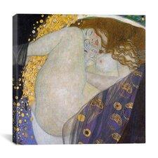 'Danae' by Gustav Klimt Painting Print on Canvas