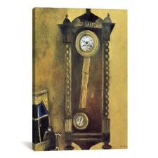 'Clock, 1914' by Marc Chagall Painting Print on Canvas