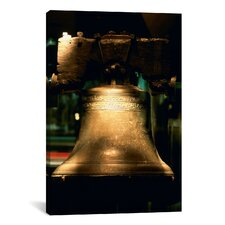 Panoramic Close-up of a Bell, Liberty Bell, Philadelphia, Pennsylvania Photographic Print on Canvas