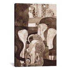 'Jurisprudenz' by Gustav Klimt Painting Print on Canvas