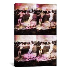 Miss America Competition Water Skiing Memorabilia on Canvas