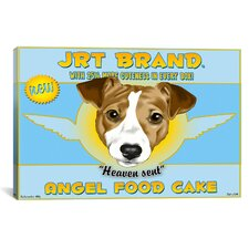 'JRT Angel' by Brian Rubenacker Vintage Advertisement on Canvas