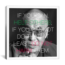 Dalai Lama Qote Canvas Wall Art