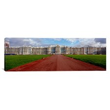 Panoramic Catherine Palace, Pushkin, St. Petersburg Russia Photographic Print on Canvas