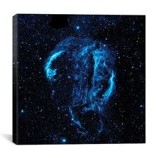 Cygnus Loop Nebula (Galaxy Evolution Explorer) Canvas Wall Art