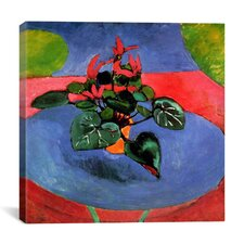 """Cyclamen Pourpre"" 1912 Canvas Wall Art by Henri Matisse"