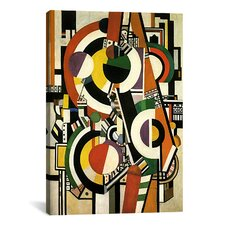 'Discs' by Fernand Leger Graphic Art on Canvas