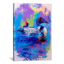 Ducks by Richard Wallich Painting Print on Canvas