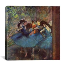 'Dancers' by Edgar Degas Painting Print on Canvas