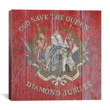 Canada Diamond Jubilee Flag, 1987 Graphic Art on Canvas