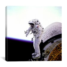 Mission Specialist James H. Newman Canvas Wall Art