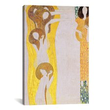 'Die Künste' by Gustav Klimt Painting Print on Canvas
