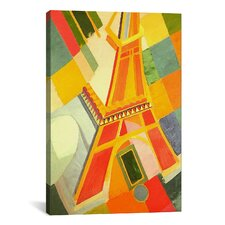 'Eiffel Tower' by Robert Delaunay Graphic Art on Canvas