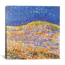 Dune ll, 1909 Canvas Wall Art by Piet Mondrian